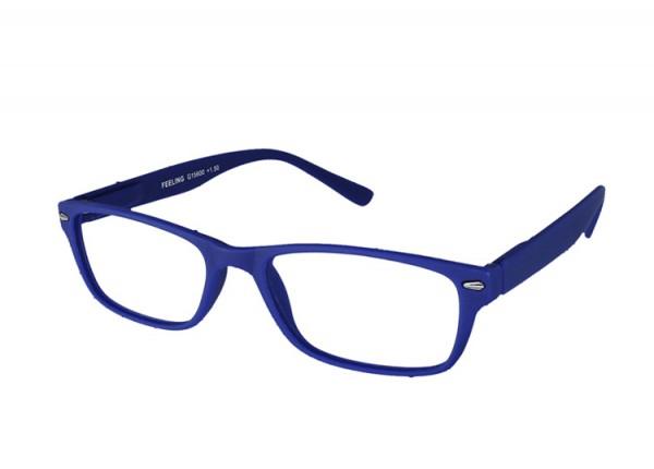 FEELING blau Kunststoff-Lesebrille G15600