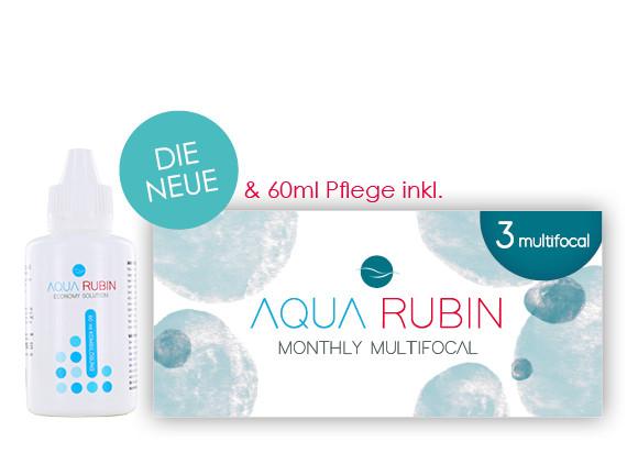 Aqua Rubin Multifocal - Monatslinse (1x3)